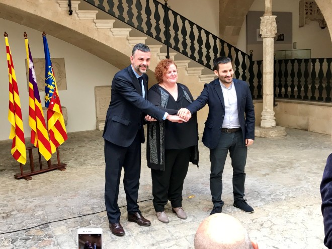 Fotografia: Els governs de les Illes Balears, Catalunya i el País Valencià acorden la Declaració de Palma